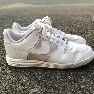 Nike Lunar Force 1 White Low-top Shoes